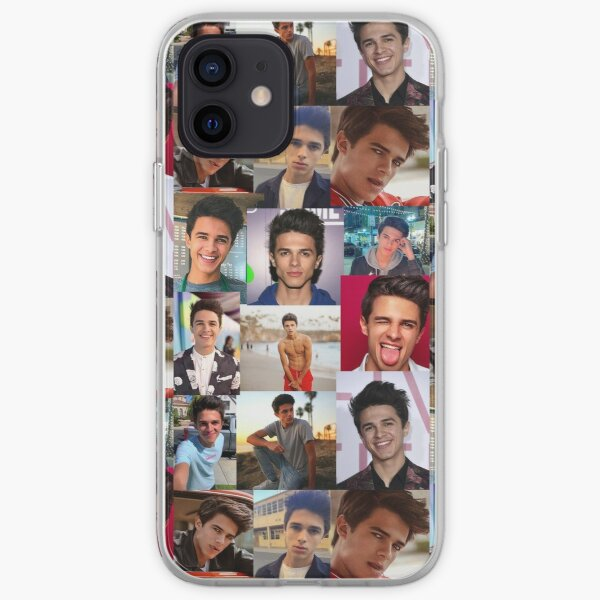 Brent Rivera Collage Artwork iPhone Soft Case