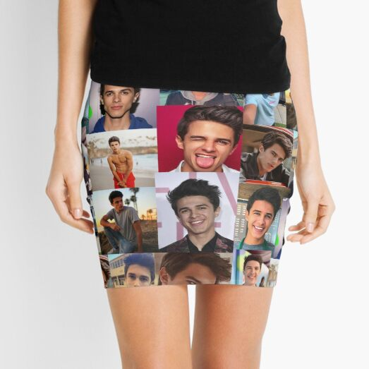 Brent Rivera Mini Skirts | Redbubble