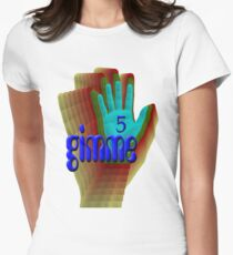 gimme 5 Blue Women's Fitted T-Shirt