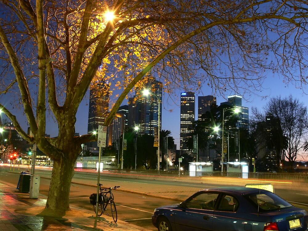 St Kilda Rd, Melbourne by PhotosByG