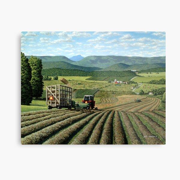 Twin Maple Farm Metal Print
