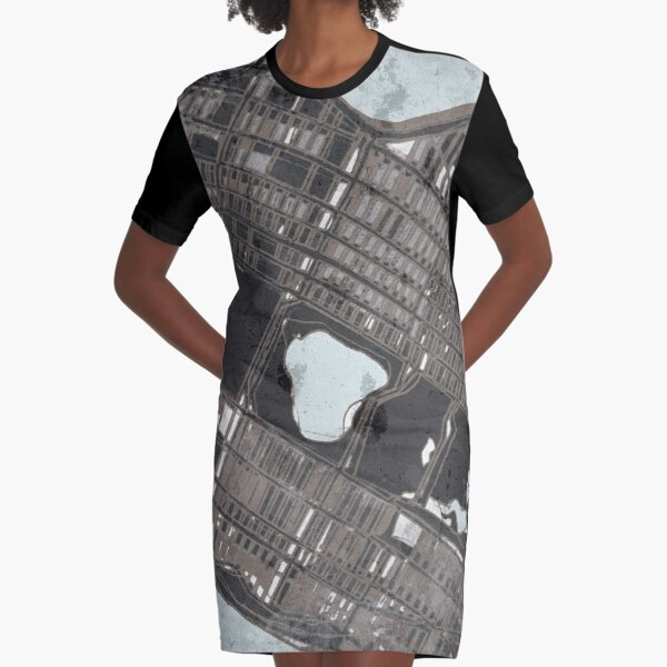 Central Park, NYC Graphic T-Shirt Dress