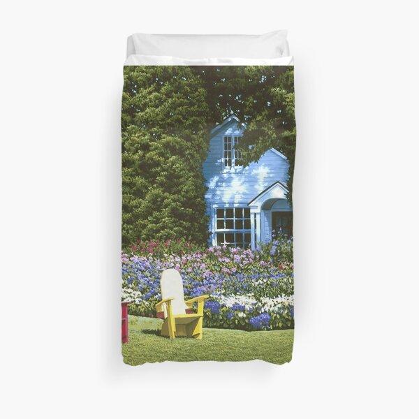 Cottage Garden Basin Harbor Duvet Cover