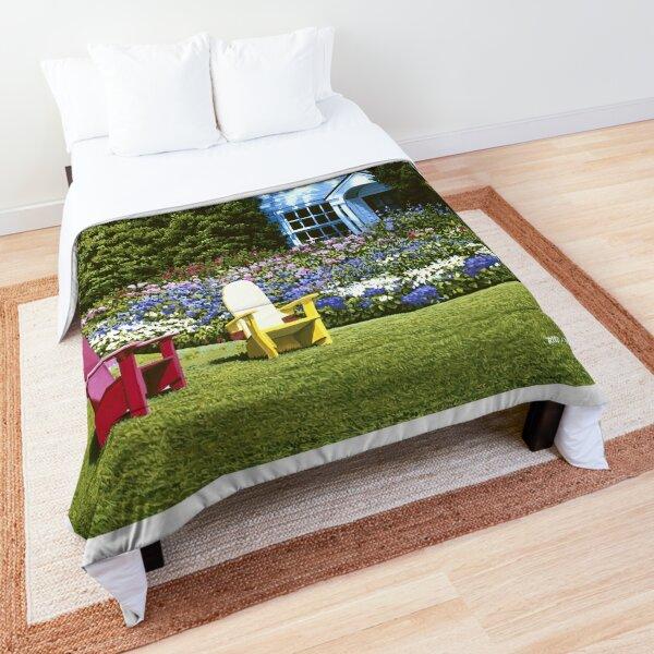 Cottage Garden Basin Harbor Comforter