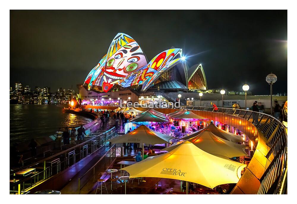 Sydney Opera House Vivid 2013 (White Border) by LeeGatland
