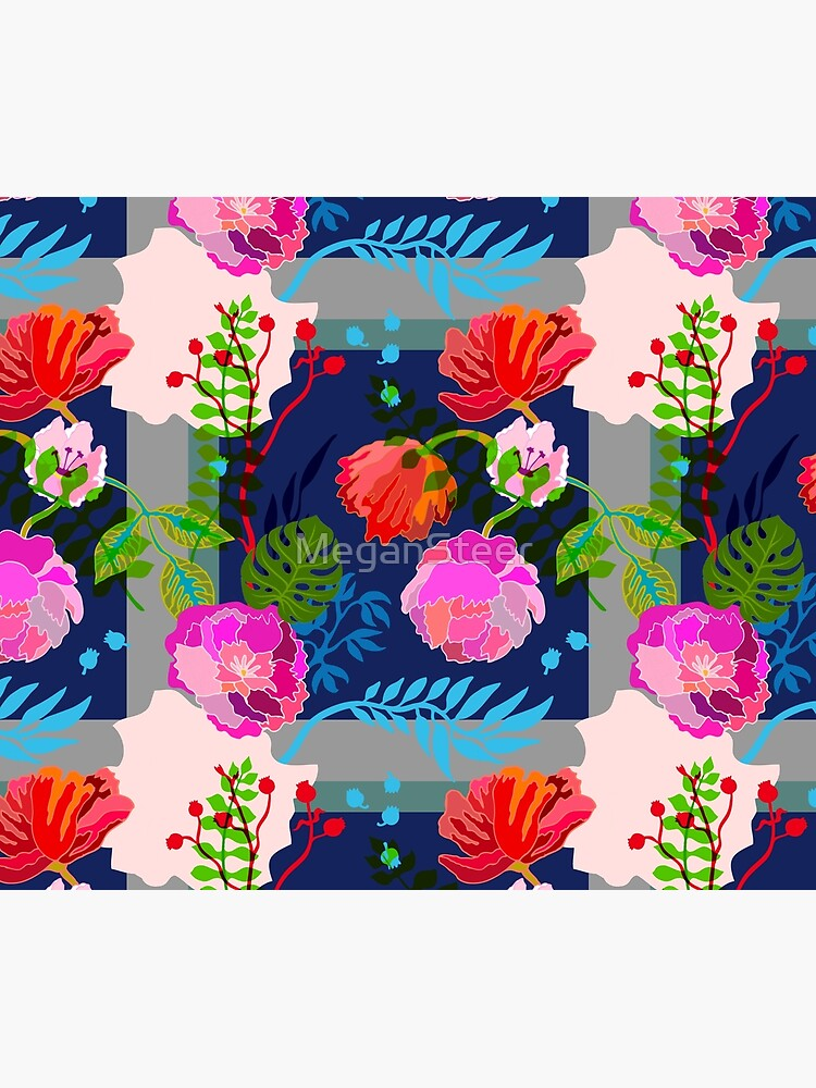 Technicolor Floral by MeganSteer
