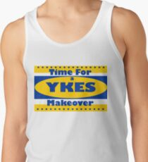 YKES: Time for a Makeover Tank Top