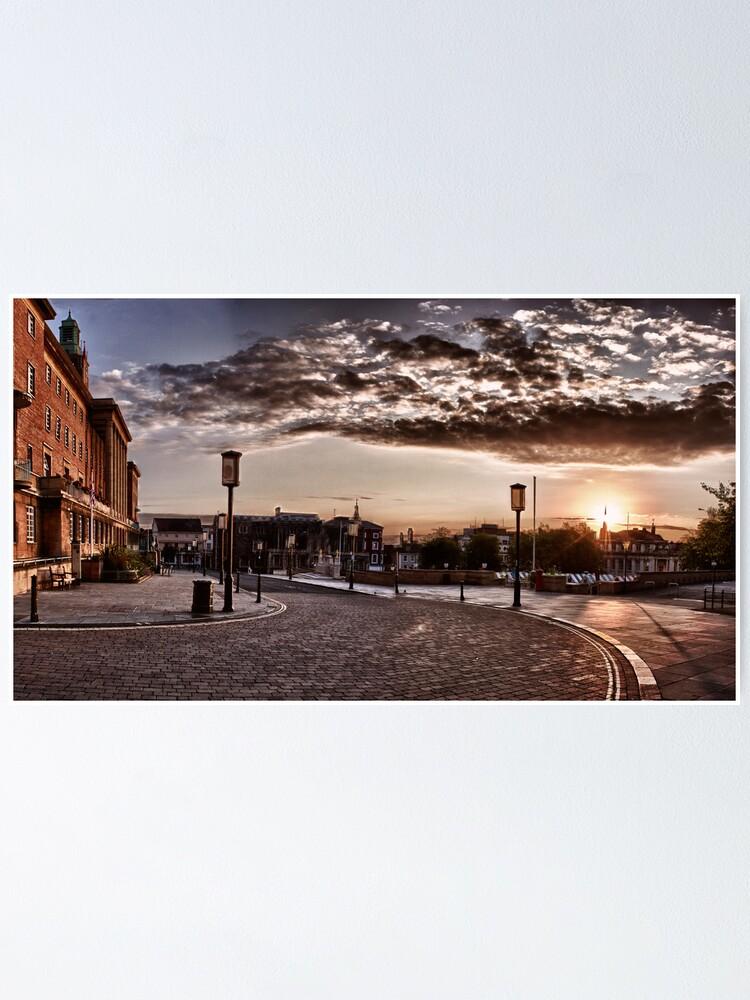 Alternate view of Solstice Sunrise #2 Poster