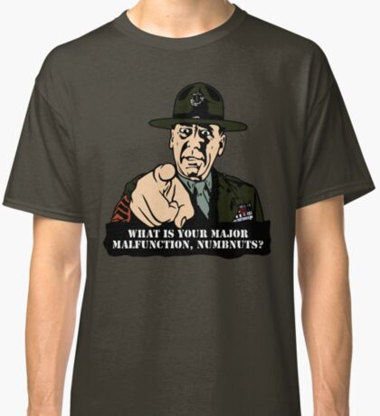 Gny. Sgt. Hartman Classic T-Shirt