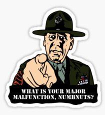 Gny. Sgt. Hartman Sticker