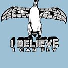 I Believe I Can Fly by anfa