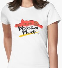 Time For Pizza Women's Fitted T-Shirt