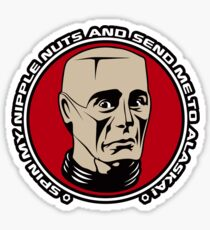 Kryten - Spin My Nipple Nuts Sticker