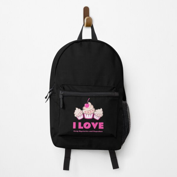 I Love Cozy Mysteries and Cupcakes Backpack