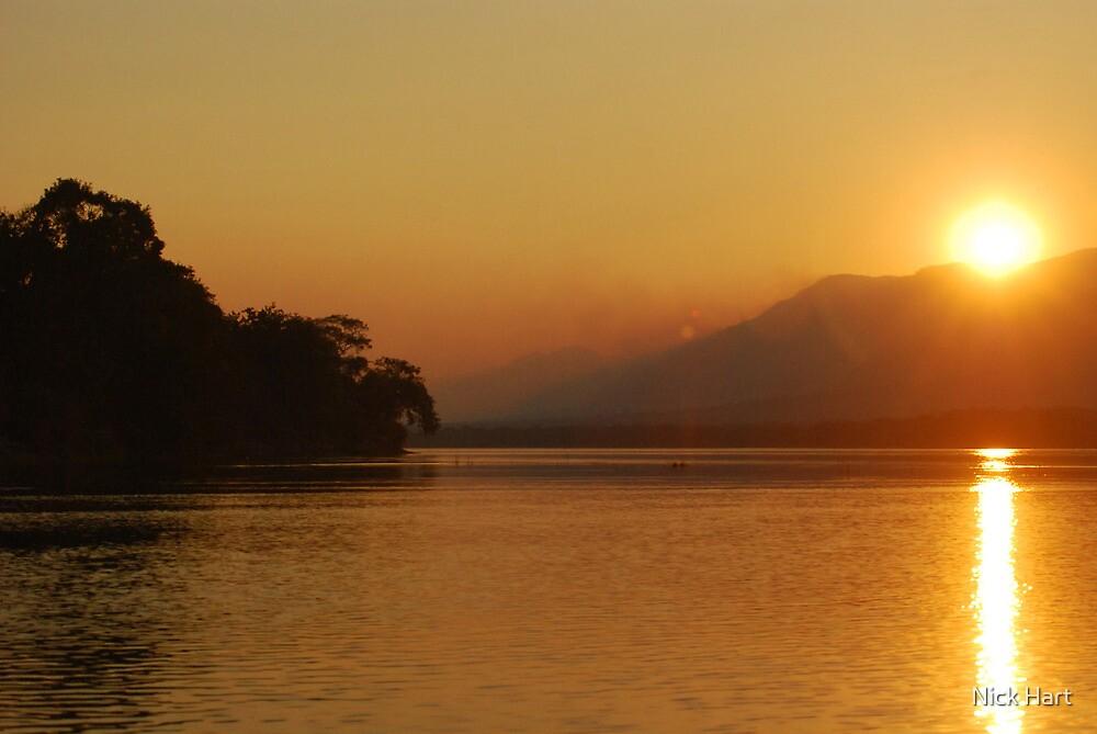 Mana Pools Sunset by Nicholas Hart