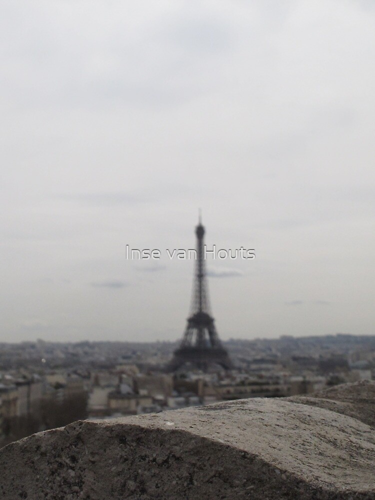 The Eiffel Tower from the Arc De Triomphe by Inse van Houts