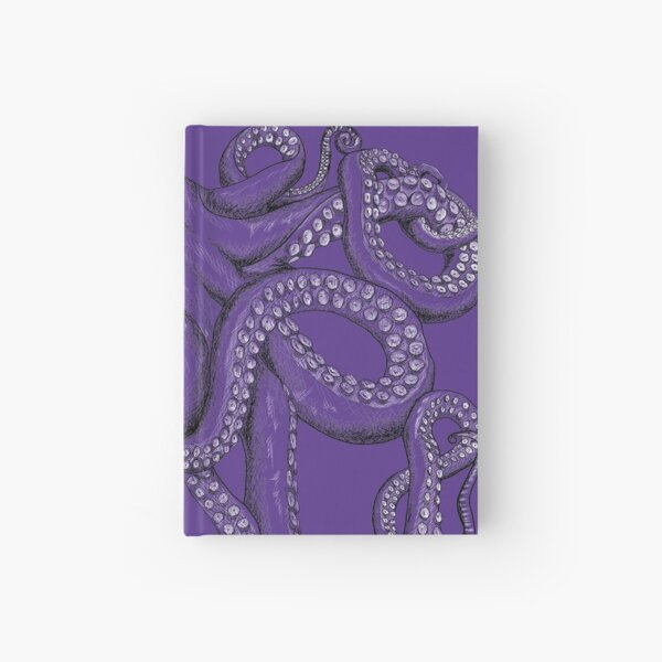 Realistic Octopus - Two Tone Hardcover Journal