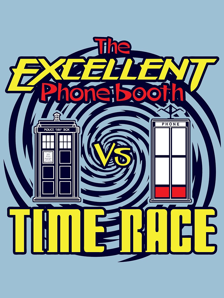 The Excellent Phone Booth Time Race by anfa