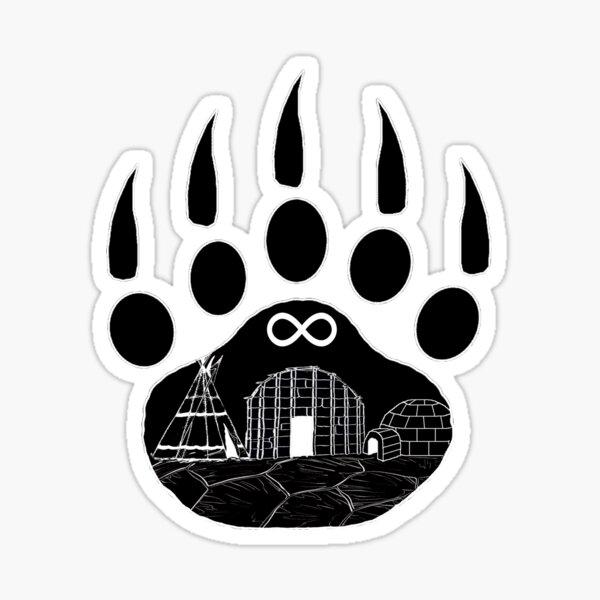 First Nations Sticker