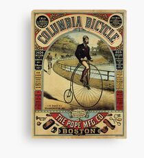 Vintage poster - Columbia Bicycle Canvas Print