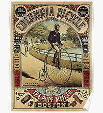 Vintage poster - Columbia Bicycle Poster