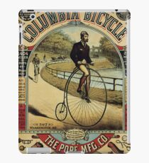 Vintage poster - Columbia Bicycle iPad Case/Skin
