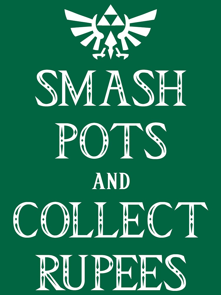 Smash Pots and Collect Rupees by anfa