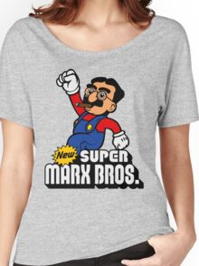 Super Marx Bros. Women's Relaxed Fit T-Shirt