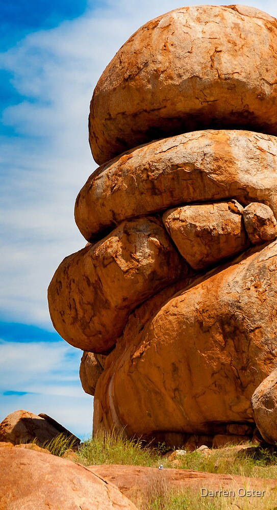 Devil's Marbles by Darren Oster