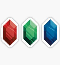 Rupee gems Sticker