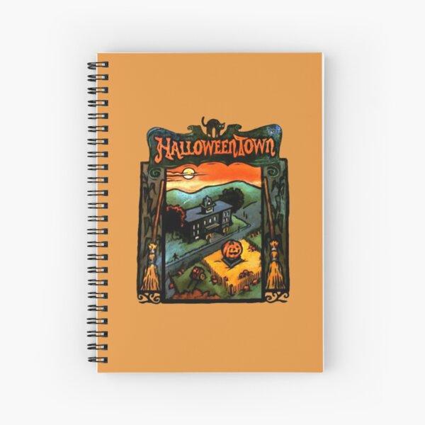Halloweentown Book Spiral Notebook