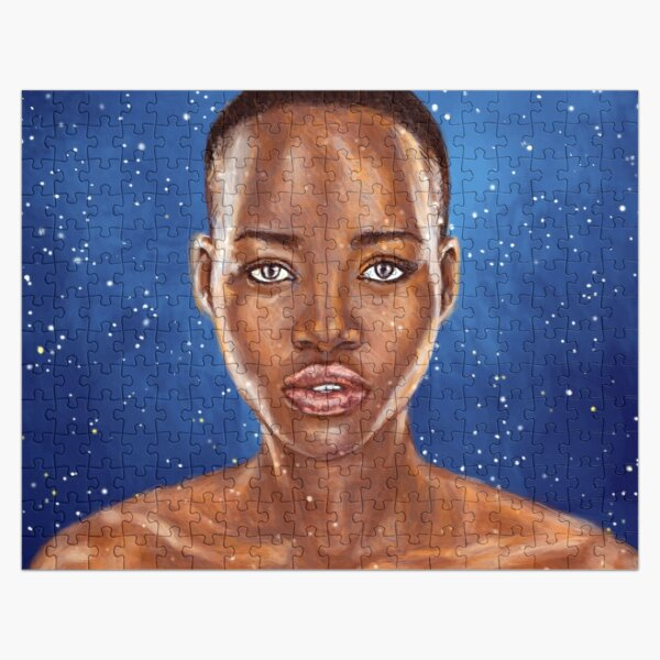 Lupita Nyong'o A Beauty Simply Out Of This World Jigsaw Puzzle