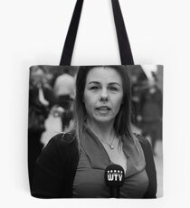 West TV Interviewer Tote Bag