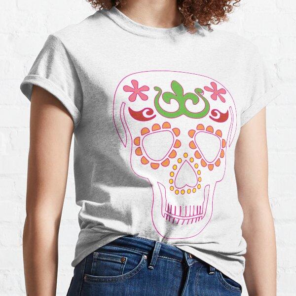 Mrs Sugar Skull Classic T-Shirt