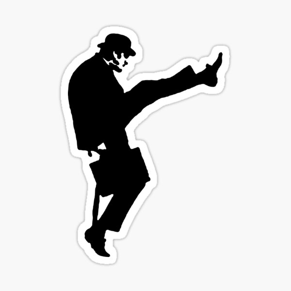 The Funny Walk Ministry Sticker