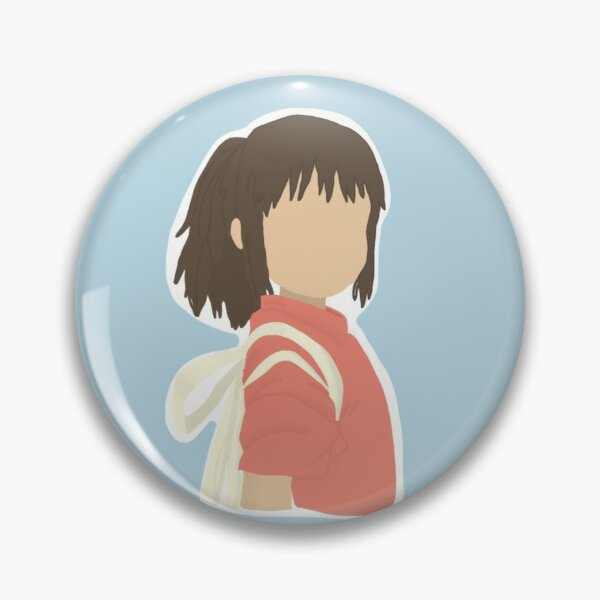 Chihiro simple drawing Pin