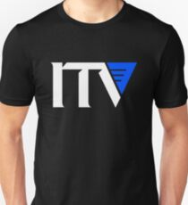 ITV 1989 Logo T-shirt for Men or Women