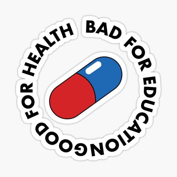Akira Pill Stickers Redbubble