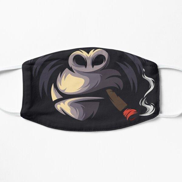 Rauchen Gorilla Mund Gesicht Flache Maske