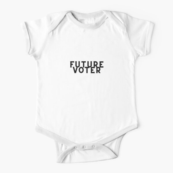 Future Voter Short Sleeve Baby One-Piece