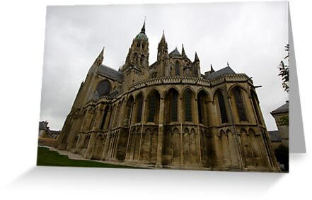 Bayeux Cathedral in France by renprovo