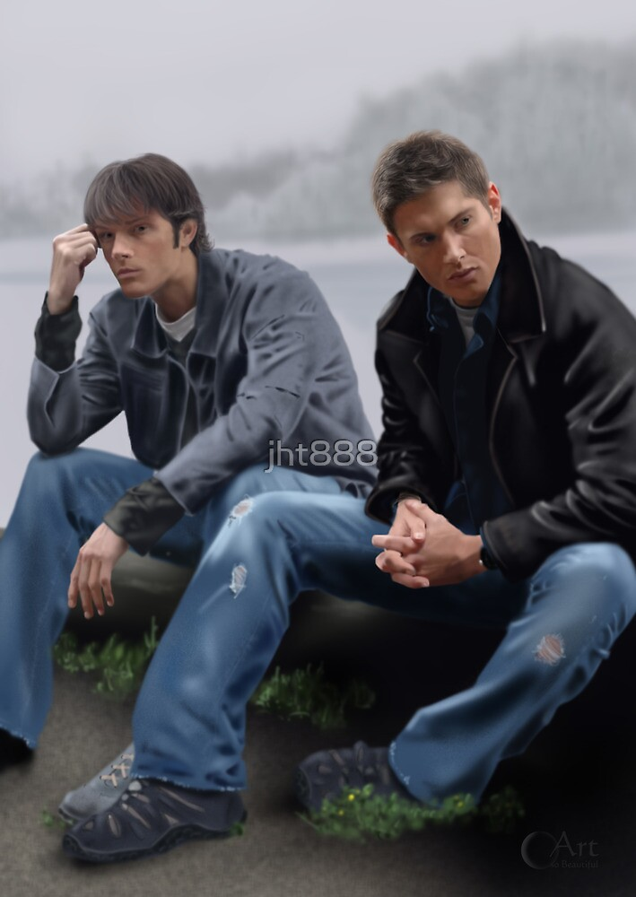 Sam and Dean Winchester by jht888