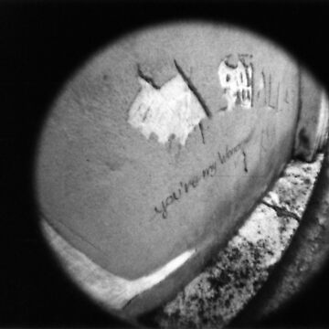 You're My Wonder (Graffiti) Wall - Lomo by chylng