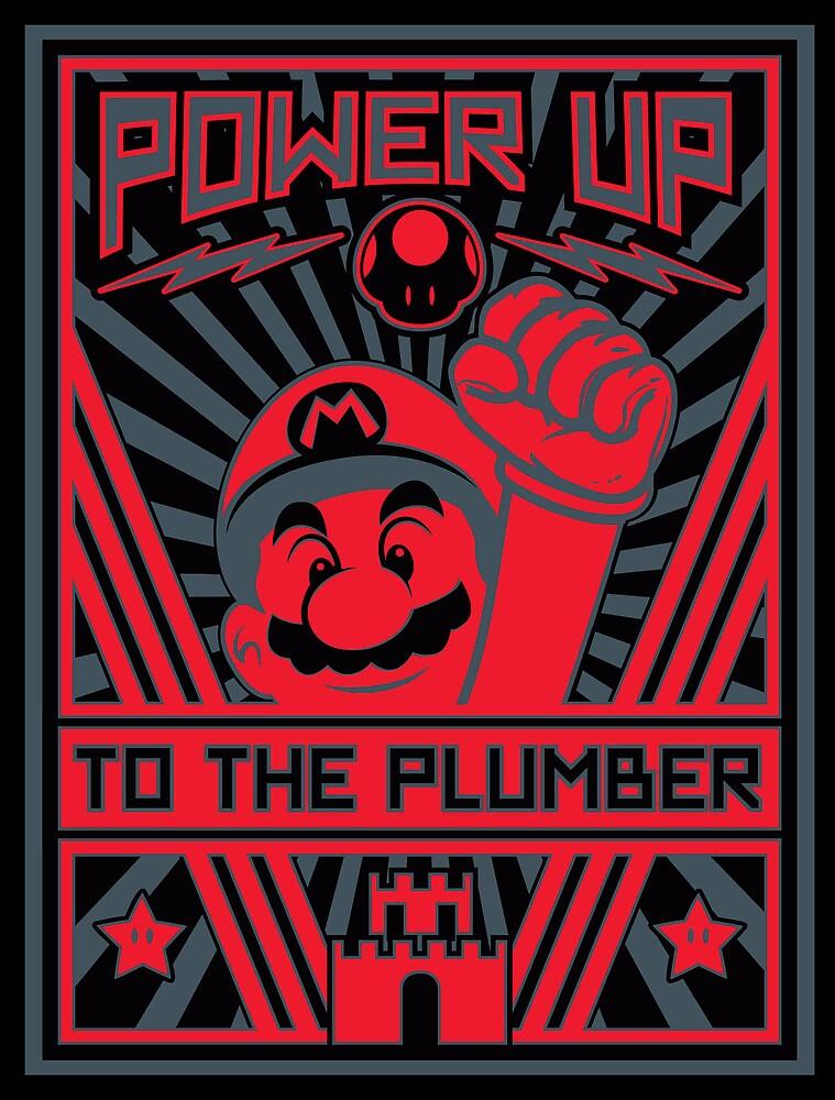 Plumber Propaganda by popnerd