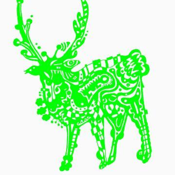 Hannimal - Green by onethirdpotato