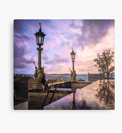 View from Capitol in Nashville, Tennessee, during the Civil War 1864 Metal Print