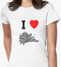 I Love Ahri Women's Fitted T-Shirt