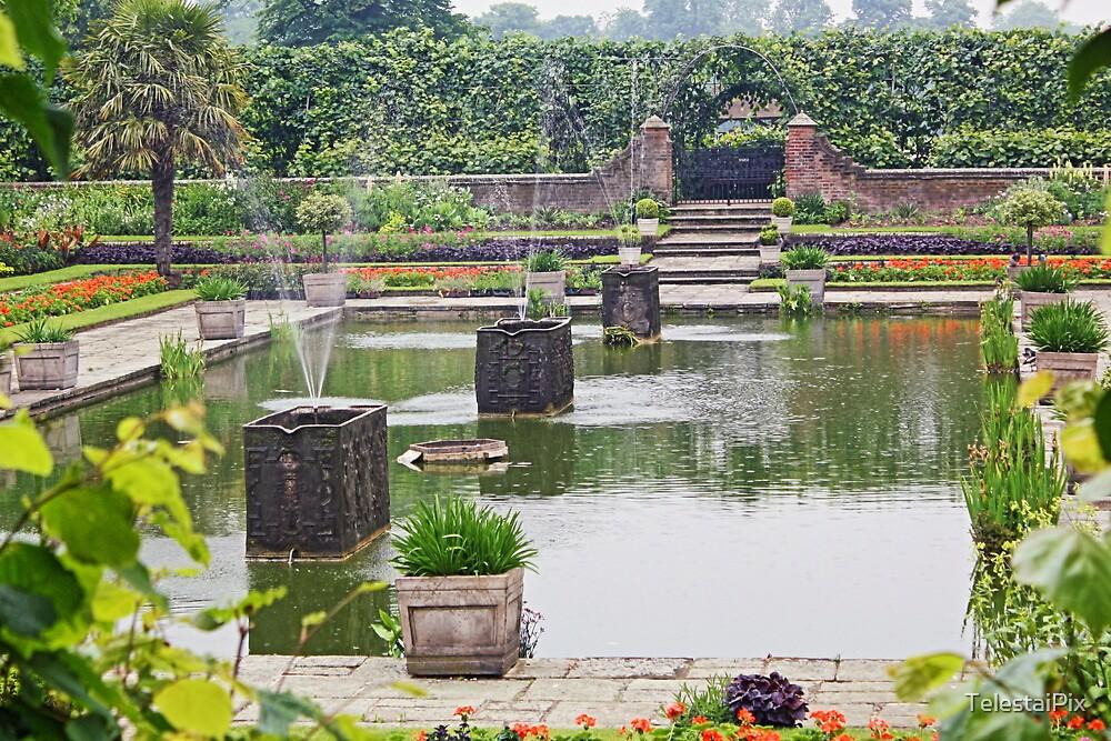 Kensington Palace Pond 1 by TelestaiPix