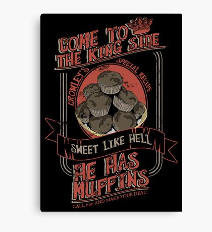 Crowley's Muffins 2 Canvas Print