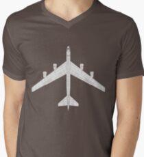 Boeing B-52 Stratofortress Men's V-Neck T-Shirt